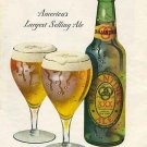 BALLANTINE ALE Ad 1947 Print Ad
