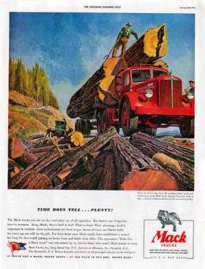 1943 Mack Trucks AD - WWII