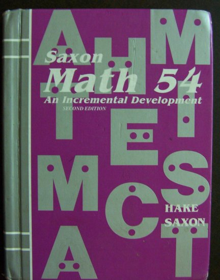 Saxon Math - Elementary Math Textbook - Homeschool or use to Tutor with-FREE SHIPPING