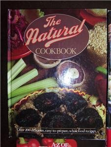 The Natural Cookbook - Gail Duff - FREE SHIPPING