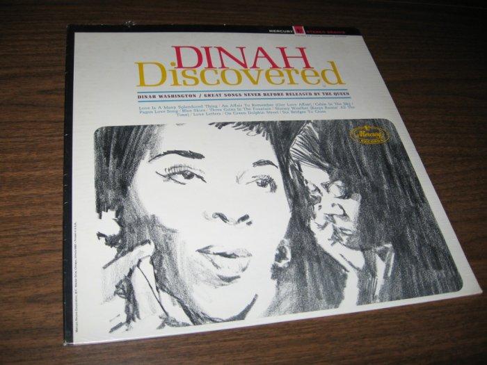DINAH WASHINGTON - DINAH DISCOVERED