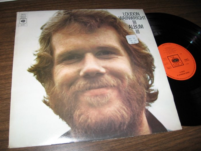 LOUDEN WAINWRIGHT III - ALBUM III LP
