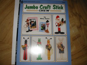 Jumbo Craft Stick Crew Grace Puplications Booklet