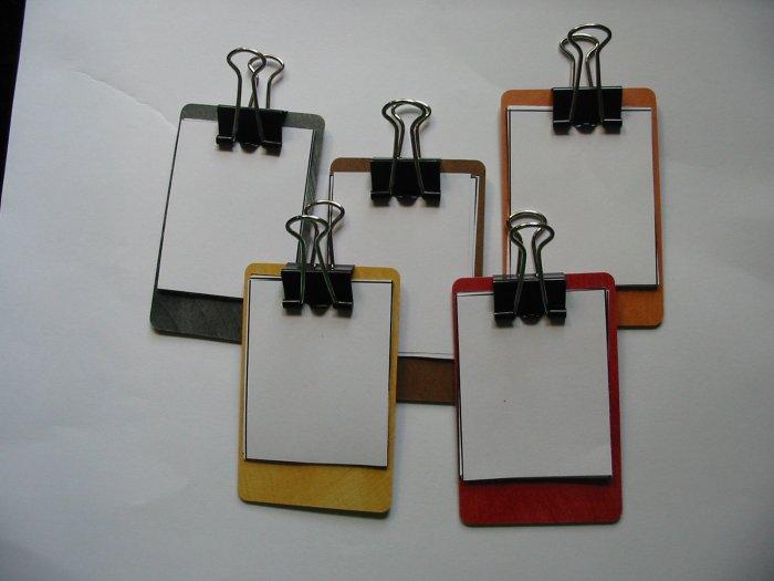 Mini Clipboard SWAPS Kit Girl Kids Scout makes 25