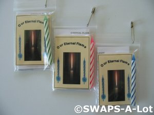 Mini Juliette's Our Eternal Flame SWAPS Kit Girl Kids Scout makes 20