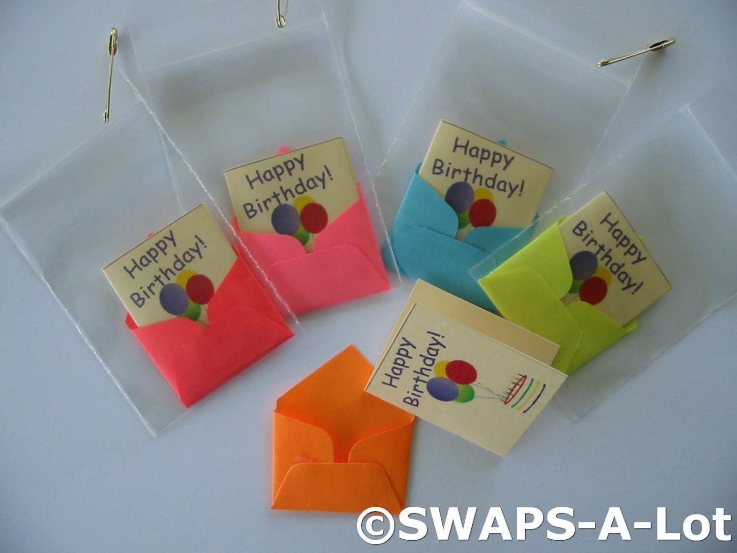 Mini happy birthday cardenvelope swaps kit for girl kids scout makes 25 bookmarktalkfo Images