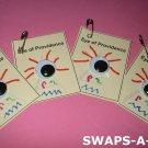 Mini Eye of Providence Egypt Thinking Day SWAPS Kit for Girl Kids Scout makes 25