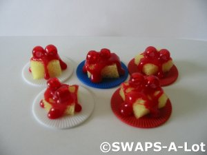 Mini Strawberry Shortcake SWAPS Kit for Girl Kids Scout makes 25