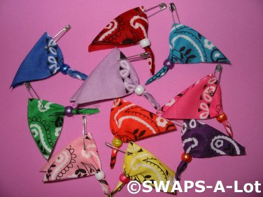 Mini Bright Bandana Girl Scout Swaps Kids Craft Kit Makes 50
