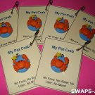 Mini My Pet Crab SWAPS Kit for Girl Kids Scout makes 24