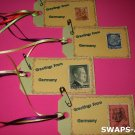Mini Greetings From Germany Stamps Thinking Day SWAPS Kit for Girl Kids Scout makes 25