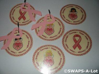 Mini Ribbons of Hope SWAPS Kit for Girl Kids Scout makes 25