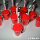 Mini Red Very Cherry Milkshake SWAPS Kit for Girl Kids Scout makes 25