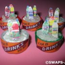 Mini Ice Bucket Cold Drink Cooler SWAPS Kit for Girl Kids Scout makes 25