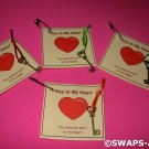 Mini Key to My Heart Girl Scout SWAPS Kids Craft Kit makes 25