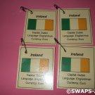 Mini Ireland: Flag, Capital Thinking Day Girl Scout SWAPS Kids Craft Kit makes 25