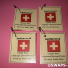 Mini Switzerland: Flag, Capital Thinking Day Girl Scout SWAPS Kids Craft Kit makes 25