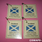 Mini Scotland: Flag, Capital Thinking Day Girl Scout SWAPS Kids Craft Kit makes 25