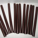 "12 ea. Mini Hot Glue Sticks Chocolate Brown Colored  1/4"" X 4"""