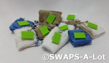 Mini Soap~Washrag for Camp Girl Scout SWAPS Kids Craft Kit makes 25