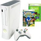 XBOX 360 CONSOLE SYSTEM  + 5 GAMES OR MORE