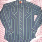 Vintage PEARL SNAP SHIRT Retro Rockabilly western M