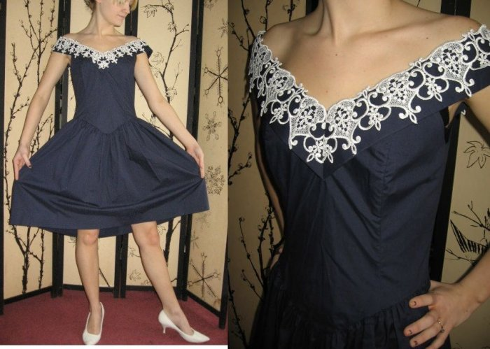 ViNTaGe GUNNE SAX SUN Dress BoHo indie DRoP wst FULL S