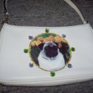 DIY Pug Leather Handbag Purse Clutch Wristlet OOAK