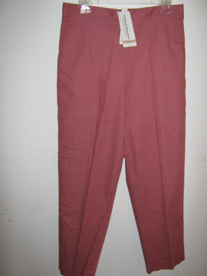 Womans Alfred Dunner Rose color Pants (12)