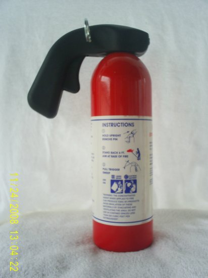 FM200 fire extinguisher 5lb