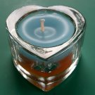 Aroma Candle in Heart Glass