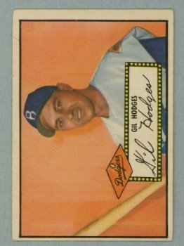 1952 Topps # 36 Gil Hodges Dodgers