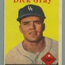 1958 Topps # 146 DICK GRAY Dodgers VG - EX