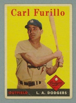 1958 Topps # 417 CARL FURILLO Dodgers