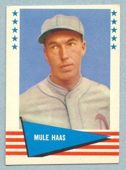 1961 Fleer # 109 George Mule Haas White Sox