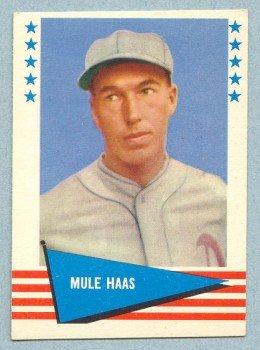 1961 Fleer # 109 George Mule Haas White Sox