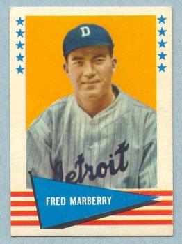 1961 Fleer # 125 Fred Marberry Washington Senators