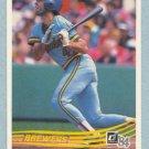 1984 Donruss # 107 Paul Molitor HOF Brewers