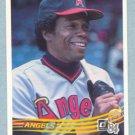 1984 Donruss # 352 Rod Carew HOF Angels