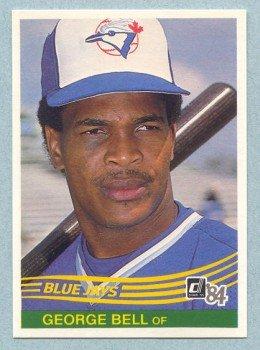 1984 Donruss # 73 George Bell Blue Jays