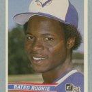 1984 Donruss # 32 Tony Fernandez Rated Rookie RC