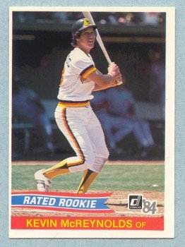1984 Donruss # 34 Kevin McReynolds RC Padres Rookie