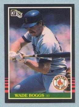 1985 Donruss # 172 Wade Boggs HOF Red Sox