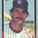 1985 Donruss # 295 Don Mattingly Yankees