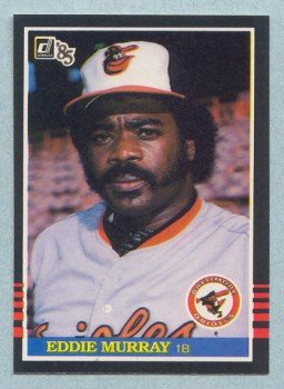 1985 Donruss # 47 Eddie Murray HOF Orioles