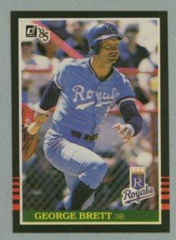 1985 Donruss # 53 George Brett HOF Royals
