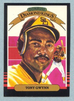 1985 Donruss Diamond Kings # 25 Tony Gwynn Padres