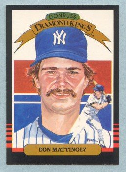 1985 Donruss Diamond Kings # 7 Don Mattingly Yankees