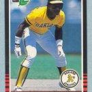 1985 Leaf # 208 Rickey Henderson Oakland A's