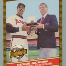 1986 Donruss Highlights # 10 Jackson -- Mantle HOF MINT